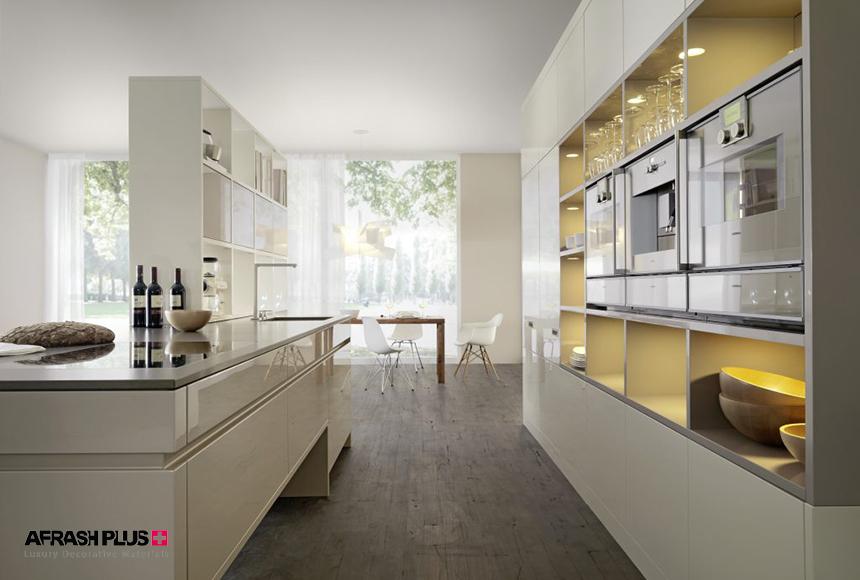 پلان آشپزخانه گالری