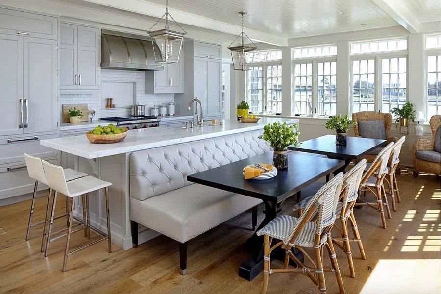 کابینت زیبای مدرن و سنتی باهم