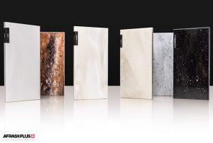 سنگ کورین هانکس شرکت هیوندای در زمنیه طوسی و سفید