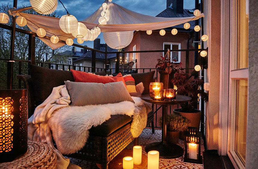 داشتن فضایی بسیار رمانتیک و شاعرانه در خانه مان