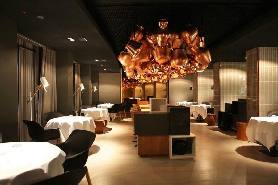 نور در دکوراسیون رستوران