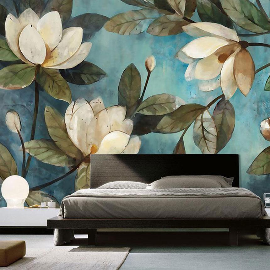 دیزاین جسورانه و متفاوت در اتاق خواب