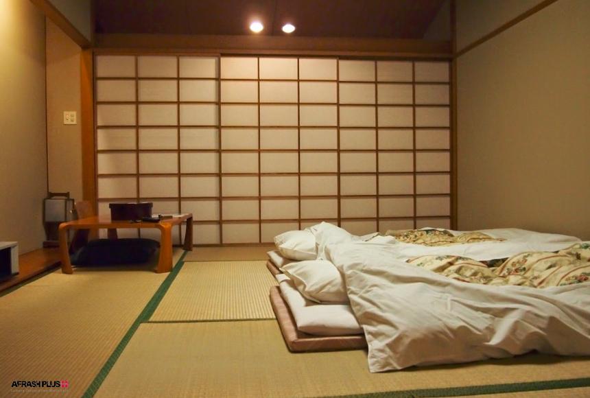 اتاق خواب در سبک آسیایی