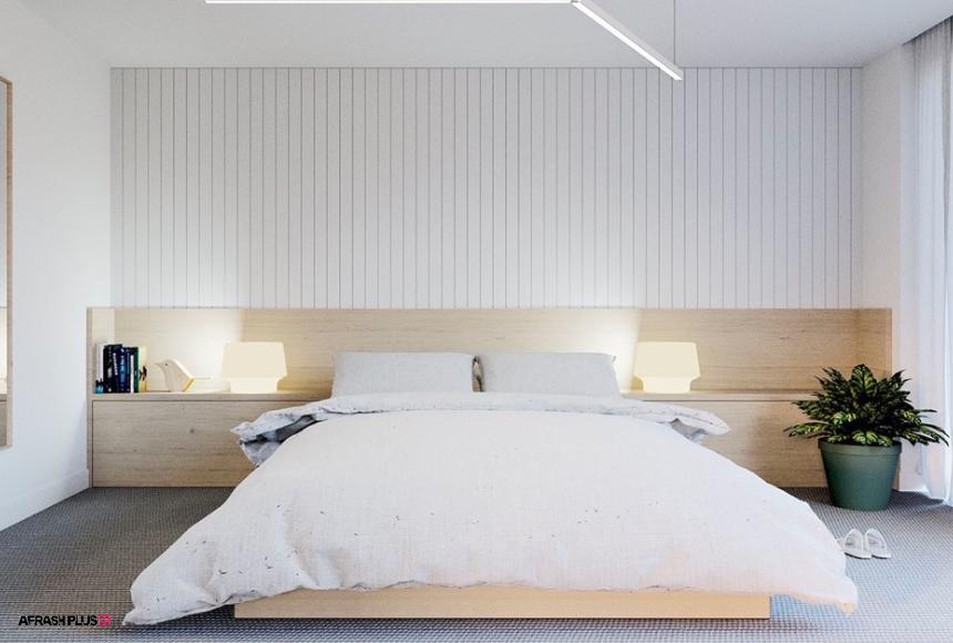 اتاق خواب در سبک مینیمال
