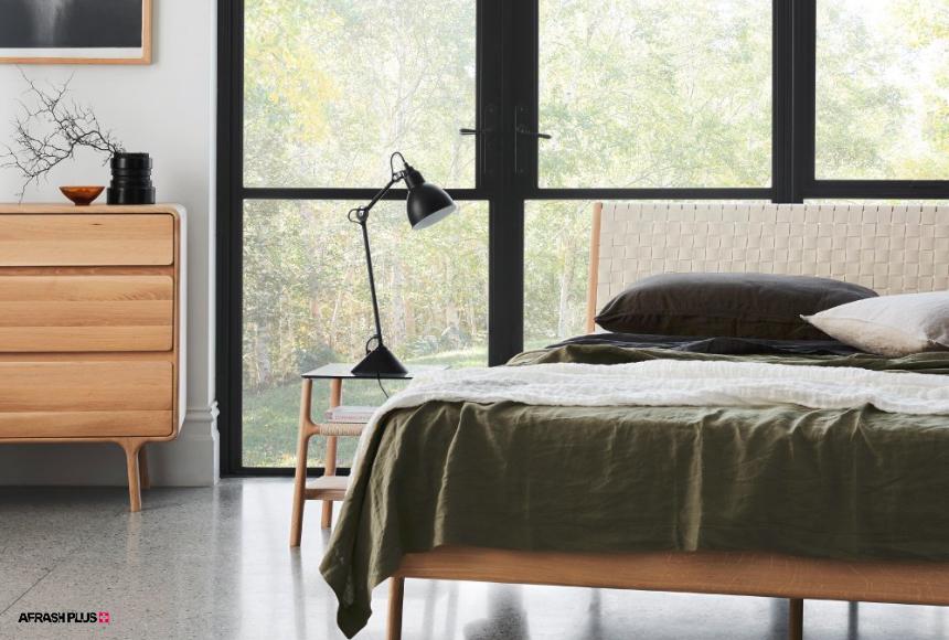 اتاق خواب در سبک اسکاندیناوی