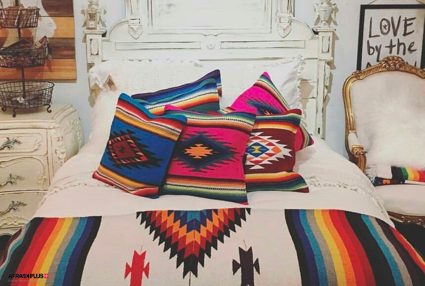 اتاق خواب در سبک جنوب غرب آمریکا
