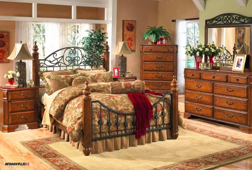 اتاق خواب در سبک ویکتوریایی