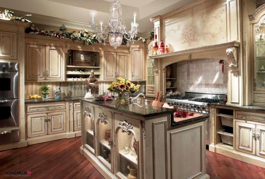 آشپزخانه در سبک ویکتوریایی