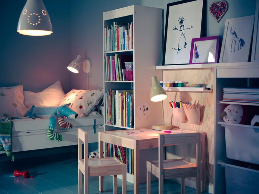 ایده جالب برای طراحی و نورپردازی اتاق کودکان