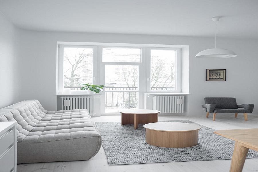 رنگ های خنثی و کم نور در خانه