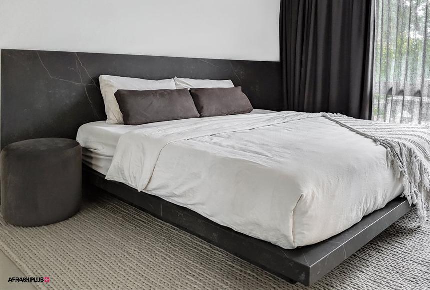استفاده از مارمونایت در ساخت تختخواب و تاج