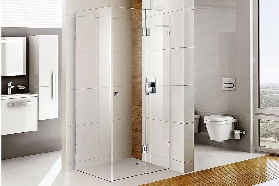 دیوار شیشه ای در حمام