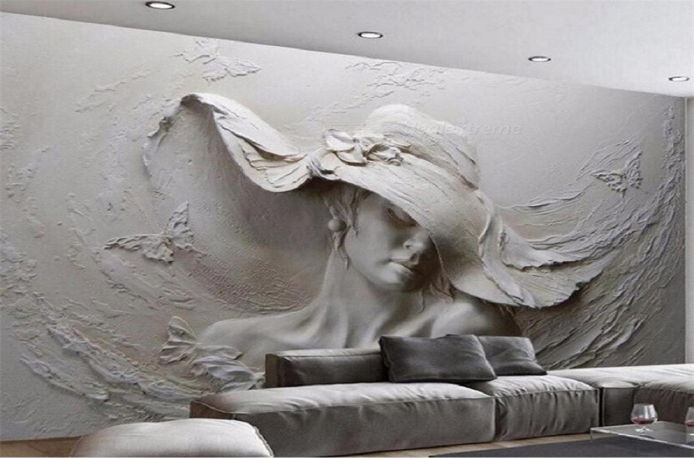پتینه زیبا بر روی دیوار طرح خانوم