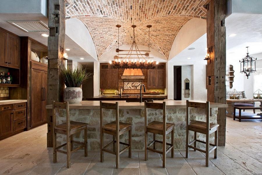 سنگ و چوب طبیعی در دکوراسیون منزل