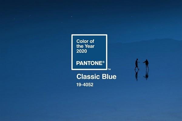 رنگ سال 2020 آبی کلاسیک