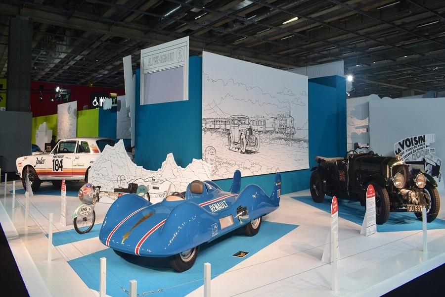 نمایشگاه اتومبیل کلاسیک