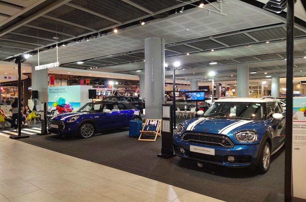 دکوراسیون نمایشگاه اتومبیل