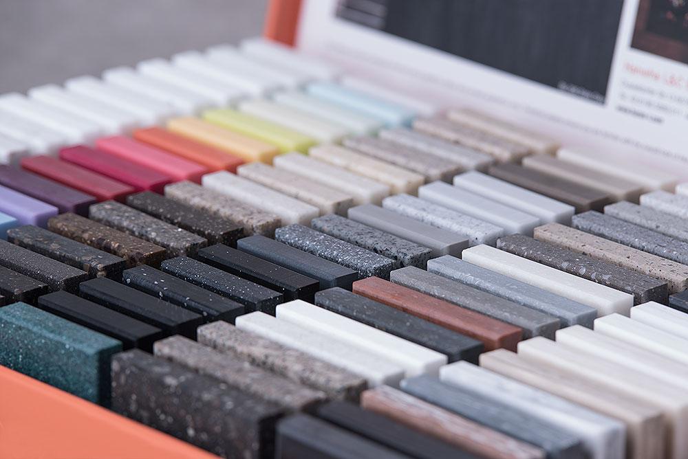 تنوع بی نظیر رنگ در کورین