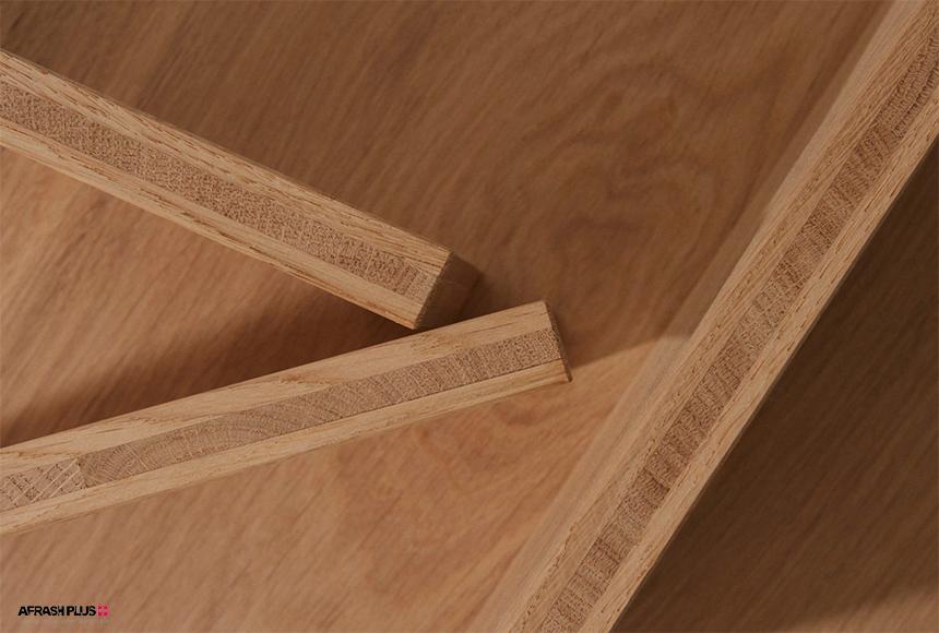 ساختار پارکت چوب طبیعی یکپارچه