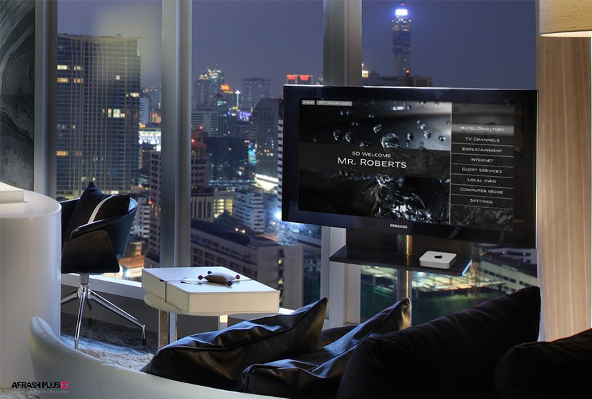 استفاده از مدرن ترین و به روزترین تکنولوژی ها در دکوراسیون هتل