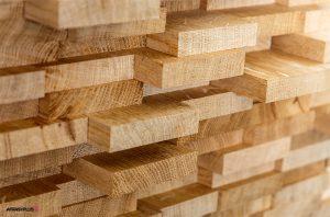 انواع چوب طبیعی به صورت ناهمگون چیده شده