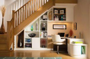 استفاده بهینه از فضای زیر پله در دکوراسیون ساختمان