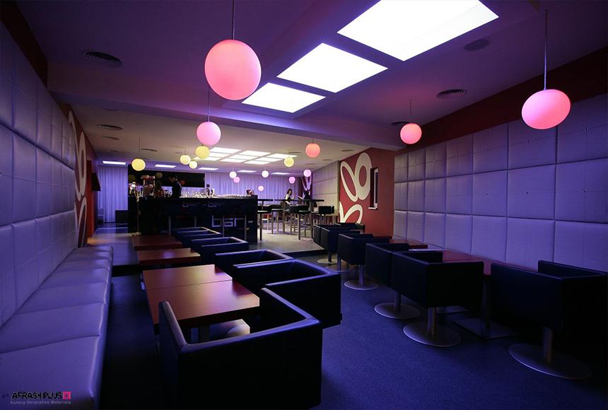 نورپردازی در دکوراسیون داخلی رستوران