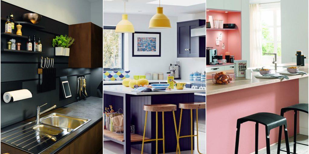 طراحی هیجان انگیز خانه با استفاده از رنگ های مختلف