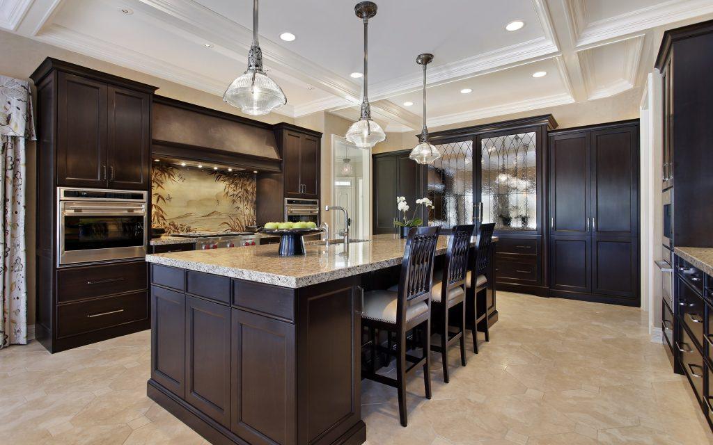 طراحی هیجان انگیز خانه و آشپزخانه با متریال نوین کورین
