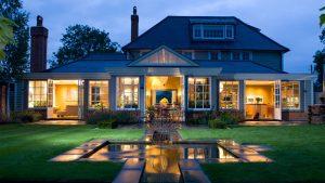 طراحی هیجان انگیز خانه ویلایی