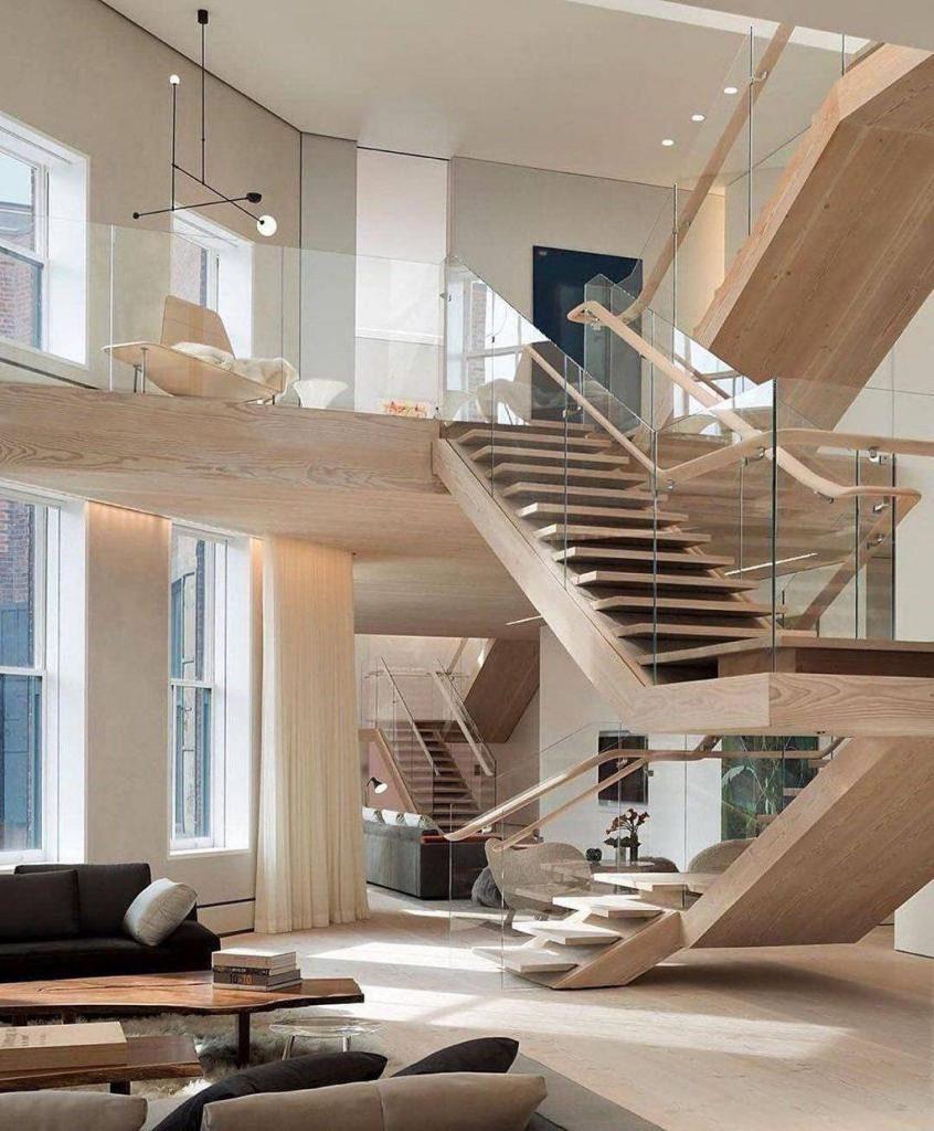 انواع راه پله در ساختمان