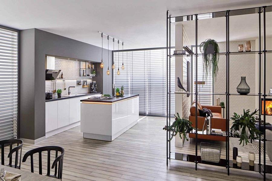 سبک صنعتی در آشپزخانه