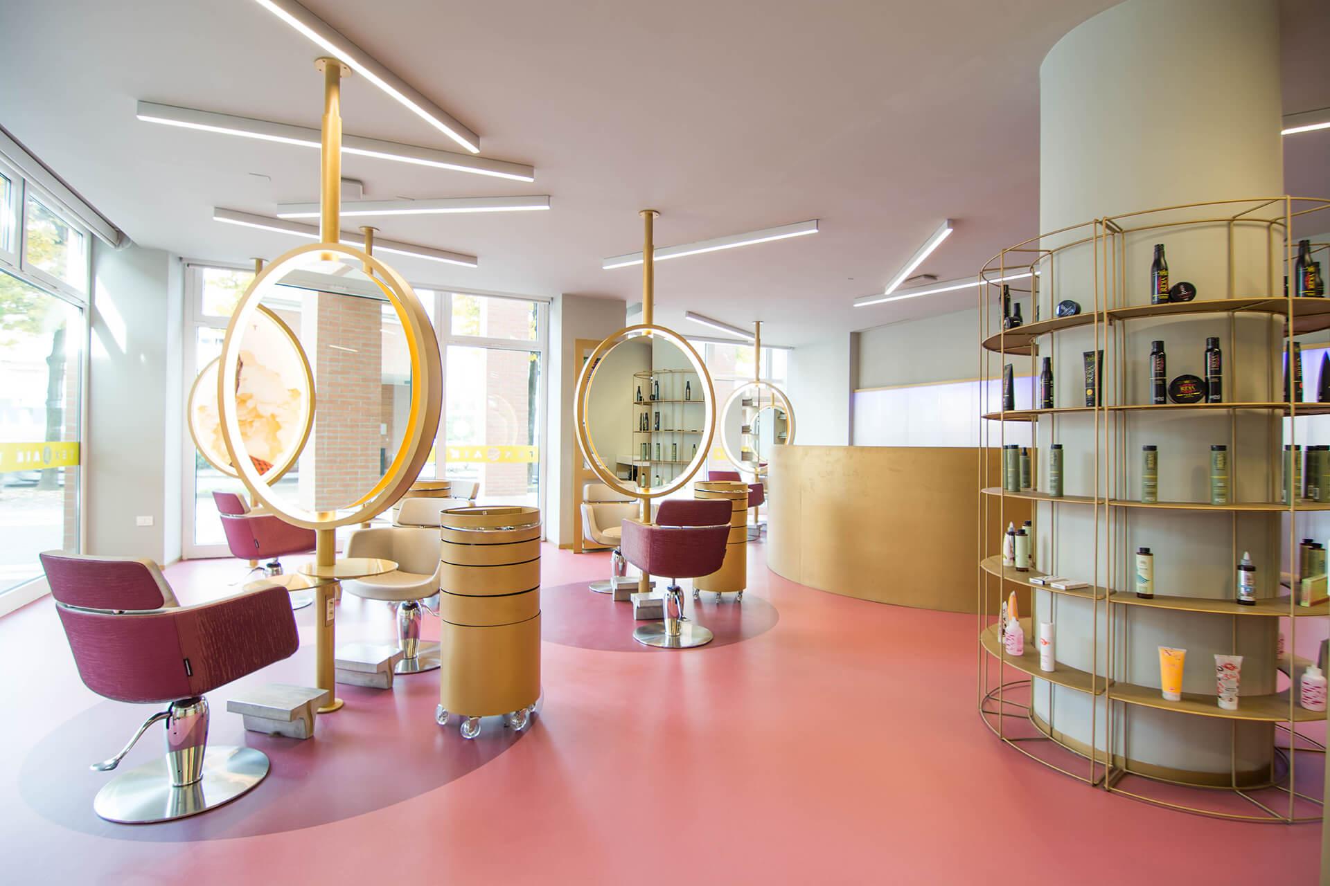 سالن زیبایی و سبک های طراحی